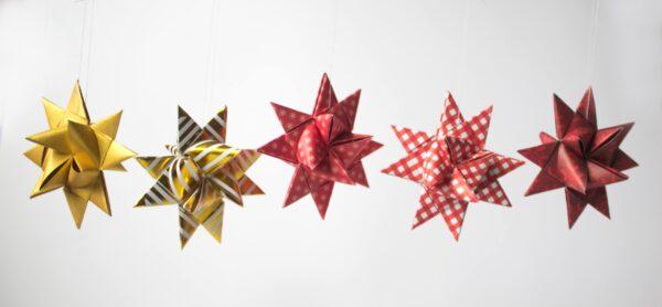 Papercraft Christmas Stars