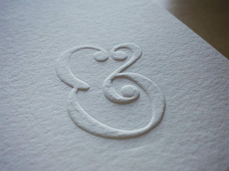 Embossing freestyle
