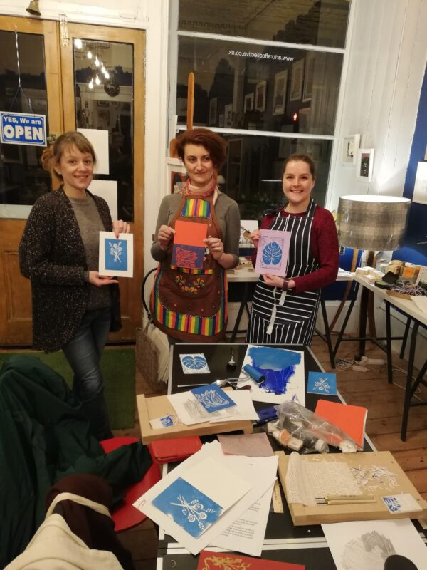 Learn to Linocut workshop
